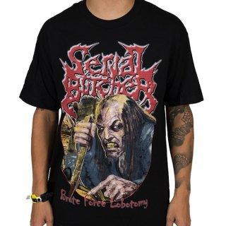 SERIAL BUTCHER Brute Force Lobotomy, Tシャツ
