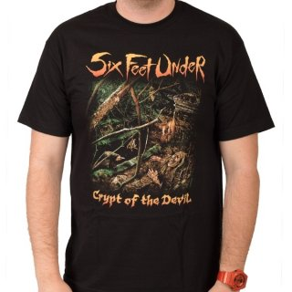 SIX FEET UNDER Crypt of the Devil, Tシャツ