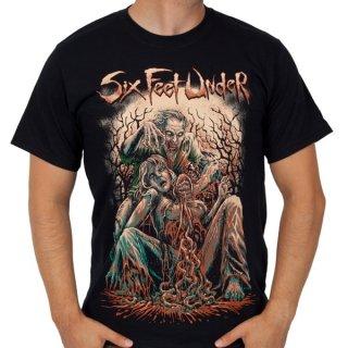 SIX FEET UNDER Zombie, Tシャツ