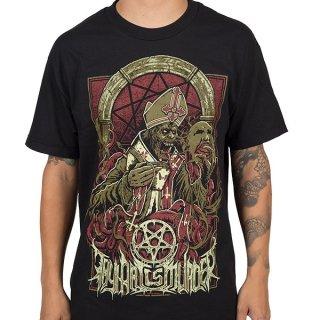 THY ART IS MURDER Evil Pope, Tシャツ