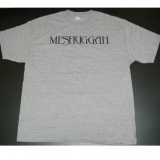 MESHUGGAH Logo Gray, Tシャツ