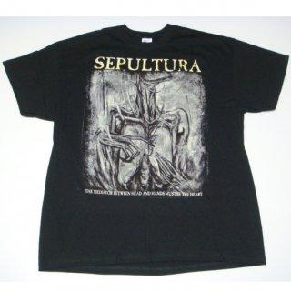 SEPULTURA Hand/Mediator, Tシャツ