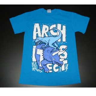 ARCHITECTS Dinosaur/Blu, Tシャツ