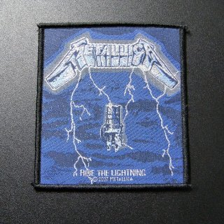 METALLICA Ride The Lightning, パッチ