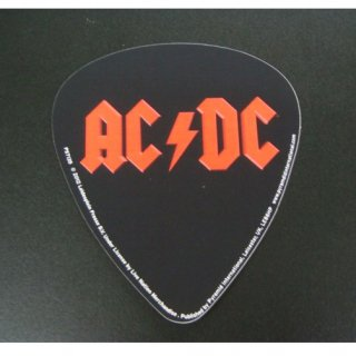 AC/DC Guitar pick shape, ステッカー