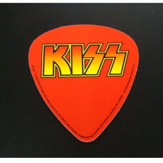 KISS Guitar pick shape, ステッカー