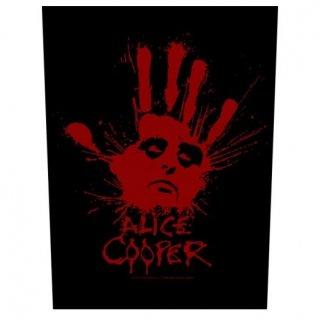 ALICE COOPER Splatter Hand, バックパッチ