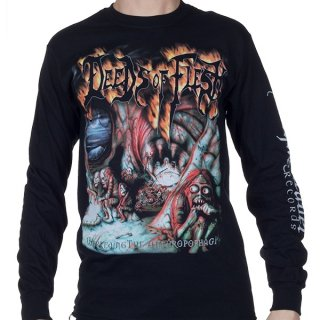 DEEDS OF FLESH Inbreeding The Anthropophagi, ロングTシャツ