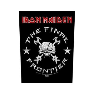 IRON MAIDEN The Final Frontier Vintage Skull, バックパッチ