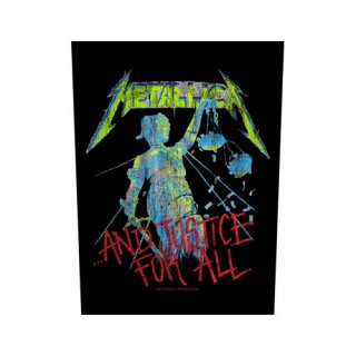 METALLICA And Justice for All, バックパッチ
