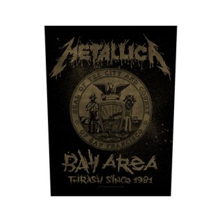METALLICA Bay Area Thrash, バックパッチ
