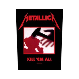 METALLICA Kill 'em all, バックパッチ
