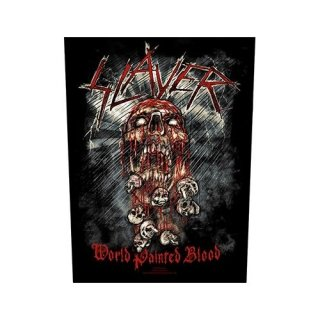 SLAYER World Painted Blood, バックパッチ