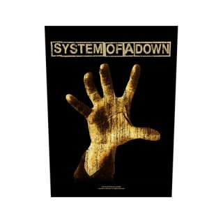SYSTEM OF A DOWN Hand, バックパッチ