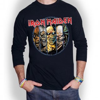 IRON MAIDEN Eddie Evolution, ロングTシャツ