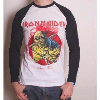 IRON MAIDEN Piece of Mind, ラグランロングTシャツ