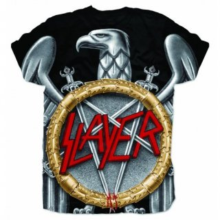 SLAYER Silver Eagle Sublimation, Tシャツ