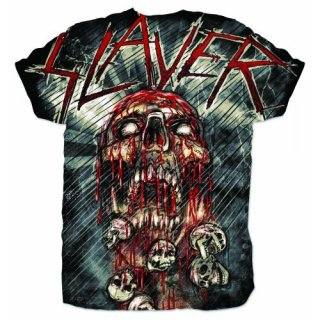 SLAYER War Painted Blood Sublimation, Tシャツ