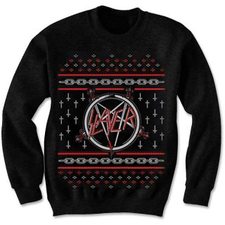 SLAYER Pentagram Holiday, スウェットシャツ