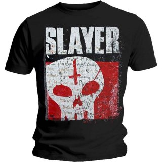 SLAYER Undisputed Attitude Skull, Tシャツ