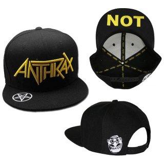 ANTHRAX Logo, キャップ