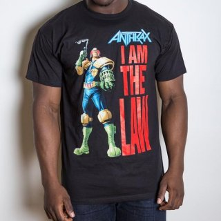 ANTHRAX I am the Law, Tシャツ