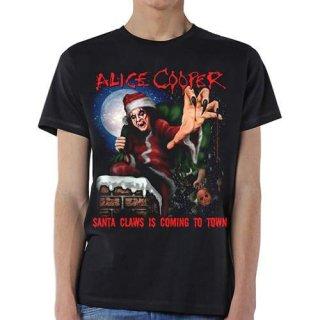 ALICE COOPER Santa Claws, Tシャツ