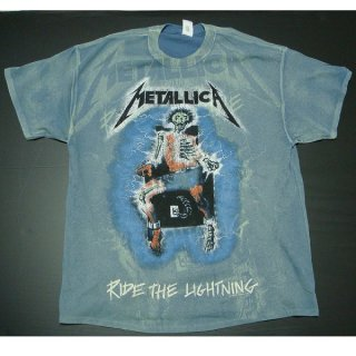 METALLICA Ride The Lightening A/O Indigo, Tシャツ