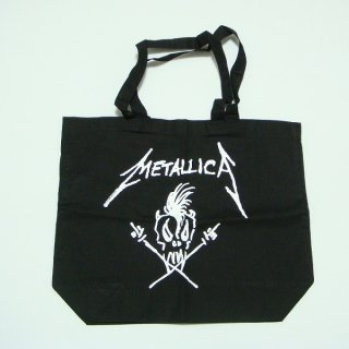 METALLICA Scary Guy Black, トートバッグ