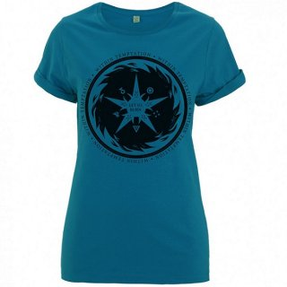 WITHIN TEMPTATION Burn Star Teal, レディースTシャツ