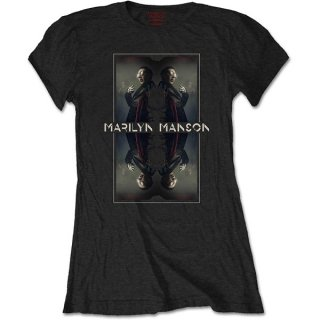 MARILYN MANSON Mirrored, レディースTシャツ