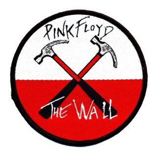 PINK FLOYD The Wall Hammers Logo, パッチ