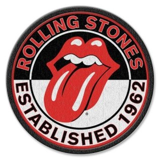 THE ROLLING STONES Est. 1962 With Iron On Finish, パッチ