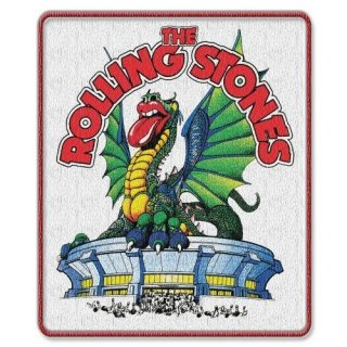 THE ROLLING STONES Dragon With Iron On Finish, パッチ
