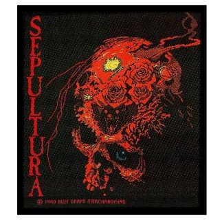 SEPULTURA Beneath The Remains, パッチ