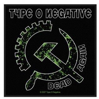 TYPE O NEGATIVE Dead Again/Hammer, パッチ