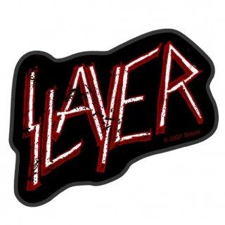 SLAYER Classic Logo Cut Out, パッチ