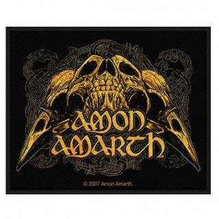 AMON AMARTH Raven Skull, パッチ