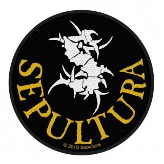 SEPULTURA Circular Logo, パッチ