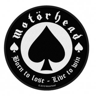 MOTORHEAD Born To Lose, パッチ