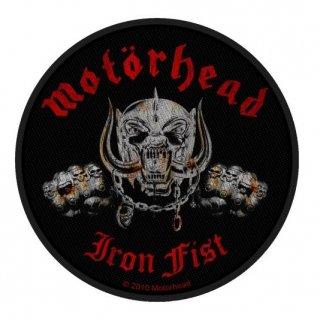 MOTORHEAD Iron Fist/Skull, パッチ