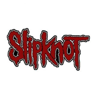 SLIPKNOT Logo Cut-Out, パッチ