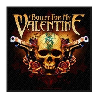 BULLET FOR MY VALENTINE Two Pistols, パッチ