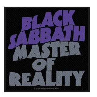 BLACK SABBATH Master Of Reality, パッチ