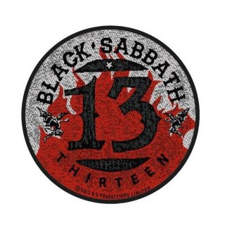 BLACK SABBATH 13 / Flames Circular, パッチ