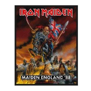 IRON MAIDEN Maiden England, パッチ
