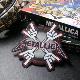 METALLICA Metal Horns, パッチ