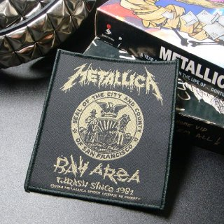 METALLICA Bay Area Thrash, パッチ