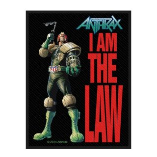 ANTHRAX I Am The Law, パッチ