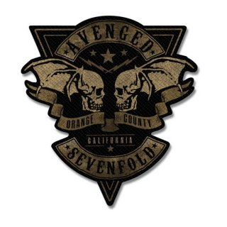 AVENGED SEVENFOLD Orange County Cut-Out, パッチ